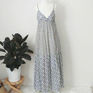 Gap Floral Patchwork Maxi Dress